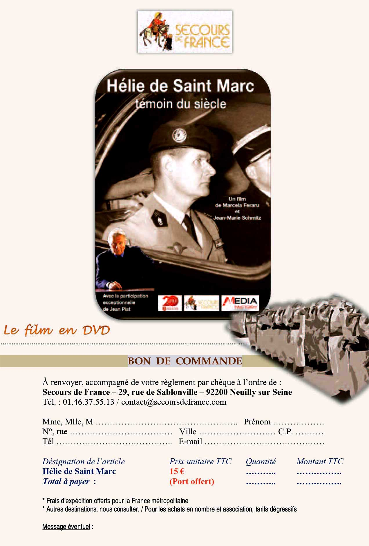 DVD de Saint Marc