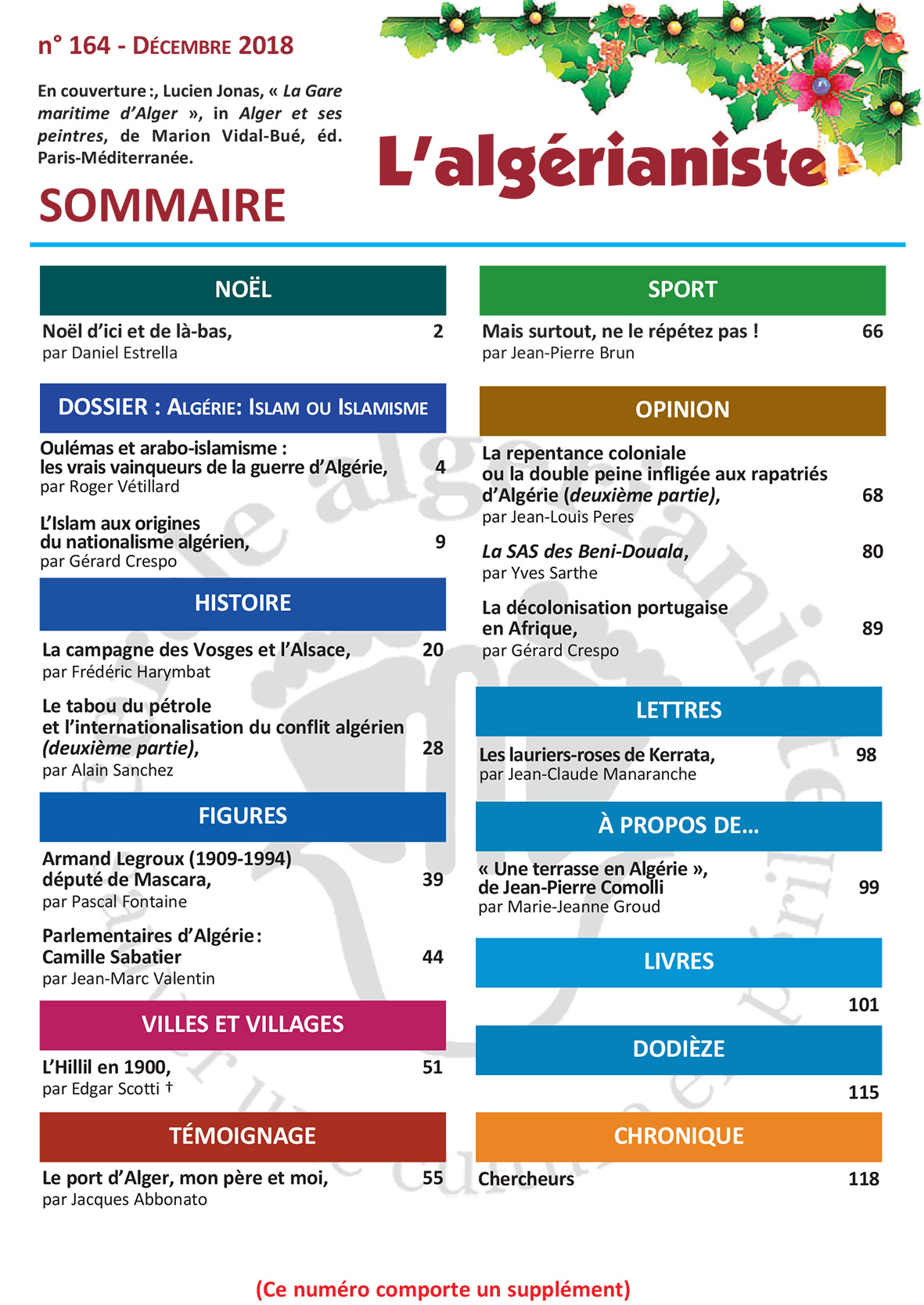 164 Sommaire